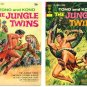 JUNGLE TWINS #1 and #2 Lot Gold Key Comics 1972 Tono & Kono