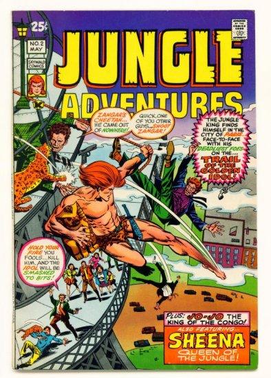 JUNGLE ADVENTURES #2 Skywald Comics 1971 SHEENA