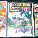 TARZAN FAMILY Lot of 3 DC Comics #60 #65 #66 1970's