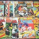 TARZAN and KORAK Lot of 12 DC Comics 1970's