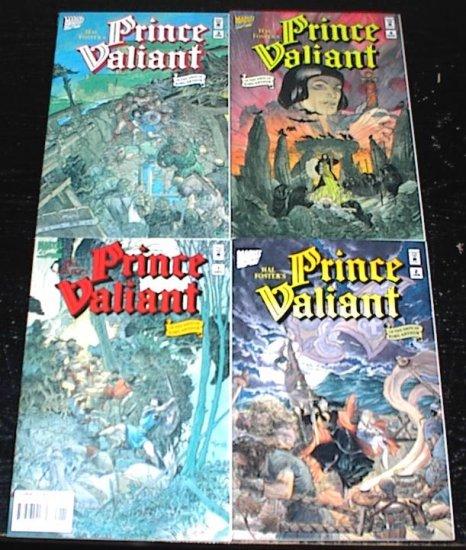 Hal Fosters PRINCE VALIANT #1 - #4 Full Run Marvel Comics