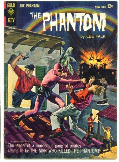 The PHANTOM #8  Gold Key Comics 1964