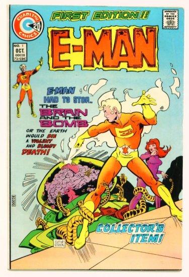 E-MAN #1 Charlton Comics 1973 Steve Ditko