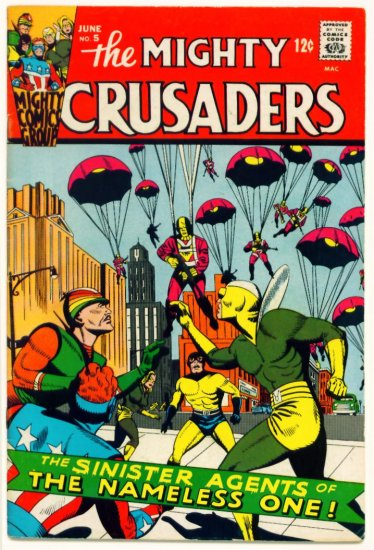 The MIGHTY CRUSADERS #5 Radio Mighty Comics Group 1966
