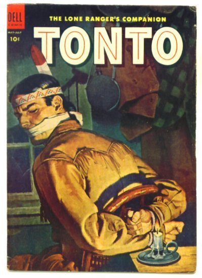 TONTO The Lone Ranger's Companion #15 Dell Comics 1954