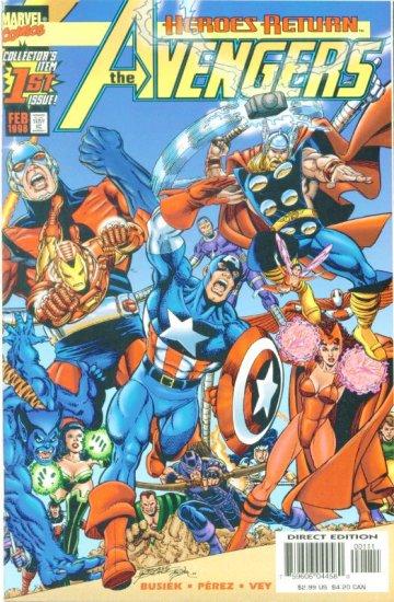 The AVENGERS #1 Marvel Comics 1998 NM
