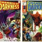CHAMBER of DARKNESS Lot #1 & #2 Marvel Comics 1969