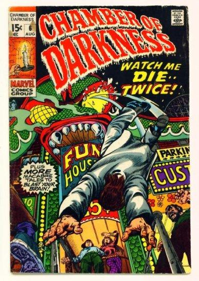 CHAMBER of DARKNESS #6 Marvel Comics 1970 Steve Ditko Horror
