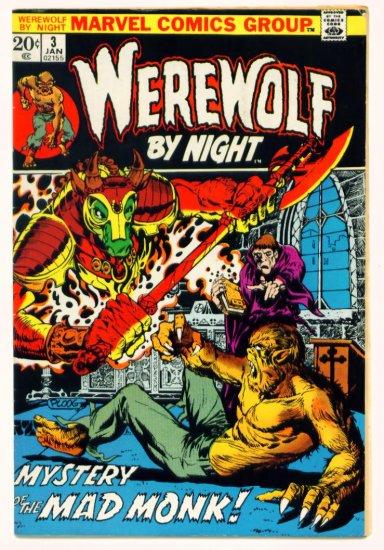WEREWOLF By Night #3 Marvel Comics 1973 Mike Ploog