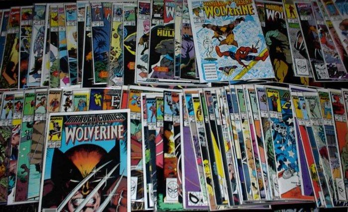 MARVEL COMICS PRESENTS Huge Lot of 148 Comics X-Men Spider-man and more !