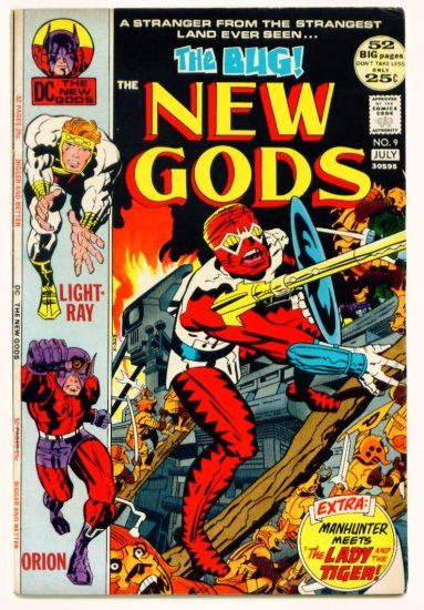 The NEW GODS #9 Marvel Comics 1972 Jack Kirby GIANT
