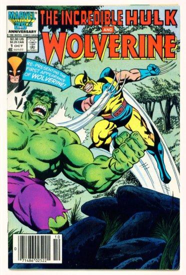 INCREDIBLE HULK and WOLVERINE #1 Marvel Comics 1986