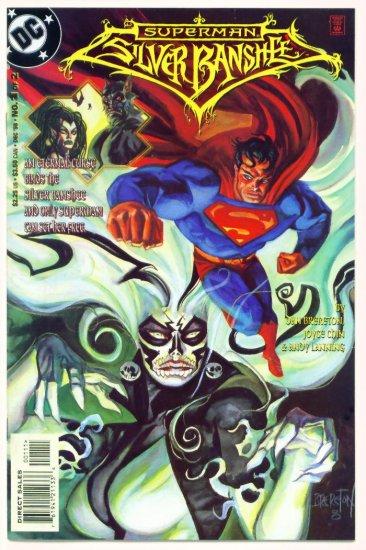 SUPERMAN SILVER BANSHEE #1 DC Comics 1998