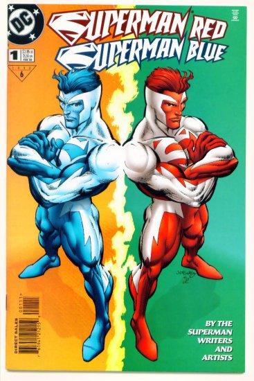 SUPERMAN RED SUPERMAN BLUE #1 DC Comics 1998