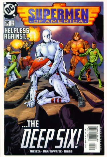 SUPERMEN OF AMERICA #2 DC Comics 2000