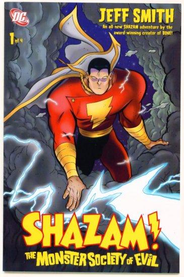 SHAZAM  The MONSTER SOCIETY of EVIL #1 DC Comics 2007  Jeff Smith