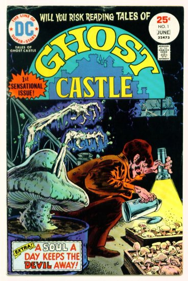 TALES of GHOST CASTLE #1 DC Comics 1975 Horror