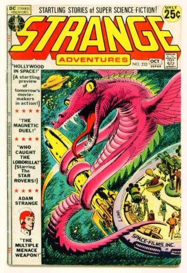 STRANGE ADVENTURES #232 DC Comics 1971 Adam Strange GIANT