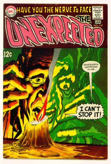 The UNEXPECTED #110 DC Comics 1969 Neal Adams