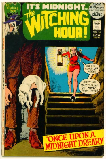 The WITCHING HOUR #20 DC Comics 1972 GIANT