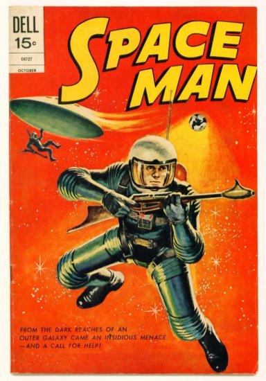 SPACE MAN #10 Dell Comics 1972