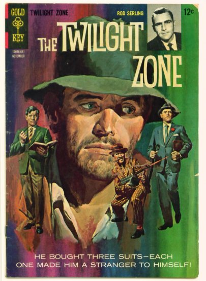 TWILIGHT ZONE #18 Gold Key Comics 1966 Rod Serling
