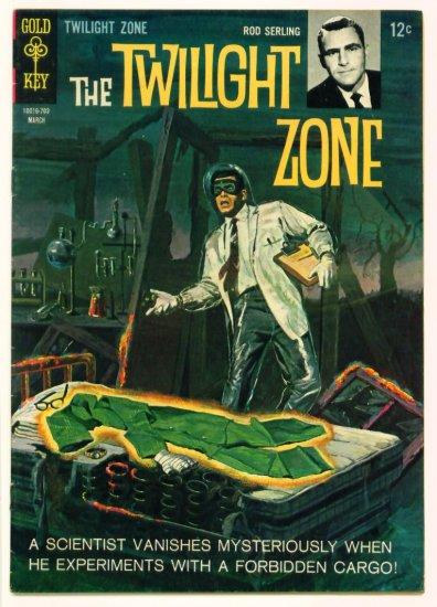 TWILIGHT ZONE #20 Gold Key Comics 1967 Rod Serling