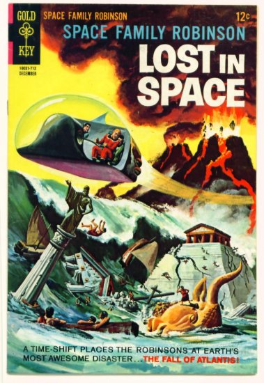 SPACE FAMILY ROBINSON #25 Gold Key Comics 1967 Lost In Space