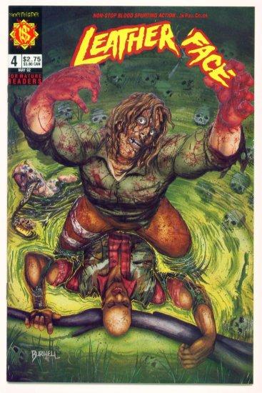 LEATHERFACE #4 Comico Comics 1991 Texas Chainsaw Massacre