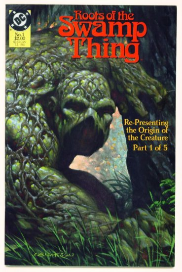 ROOTS of the SWAMP THING #1 DC Comics 1986 Berni Wrightson