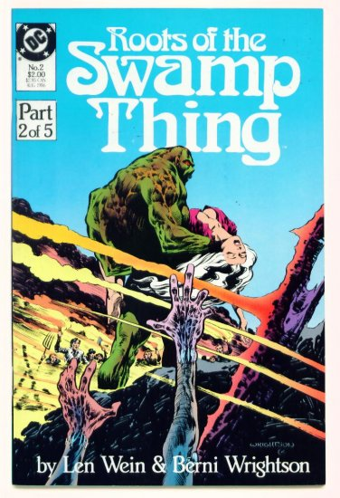 ROOTS of the SWAMP THING #2 DC Comics 1986 Berni Wrightson