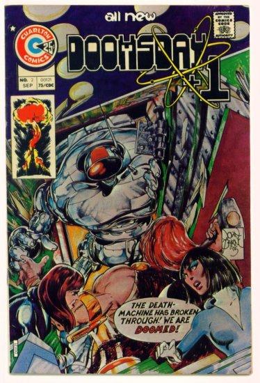 DOOMSDAY PLUS 1 #2 Charlton Comics 1975 -- John Byrne