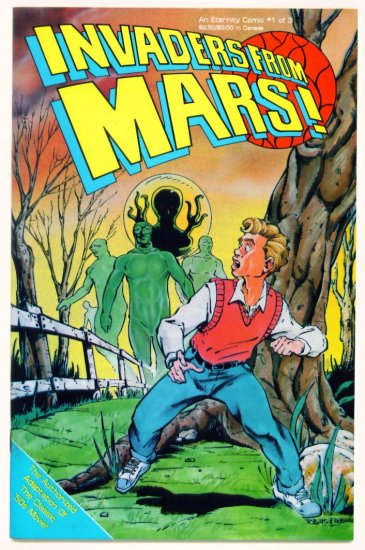 INVADERS FROM MARS #1 Eternity Comics 1990