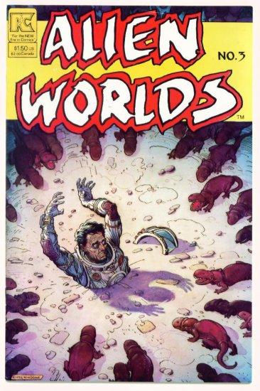 ALIEN WORLDS #3 Pacific Comics 1982 Bruce Jones