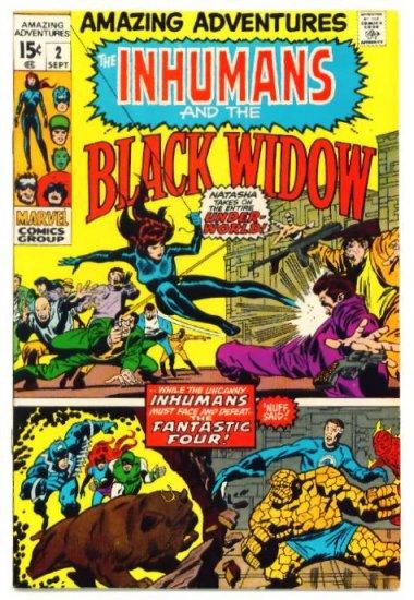 AMAZING ADVENTURES #2 Marvel Comics 1970 FINE Inhumans
