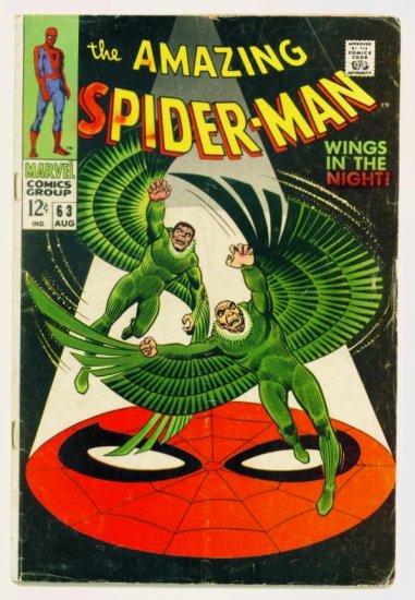 AMAZING SPIDER-MAN #63 Marvel Comics 1968
