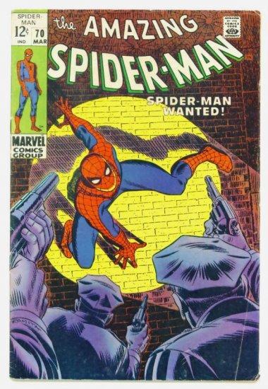 AMAZING SPIDER-MAN #70 Marvel Comics 1969