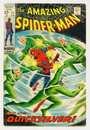 AMAZING SPIDER-MAN #71 Marvel Comics 1969