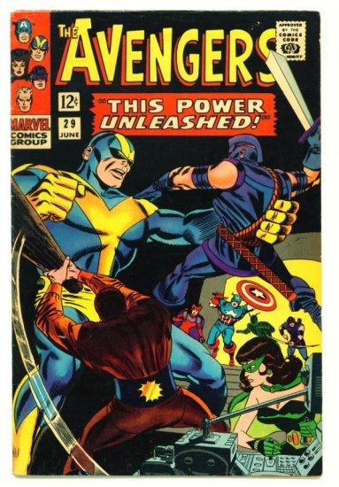 The AVENGERS #29 Marvel Comics 1966