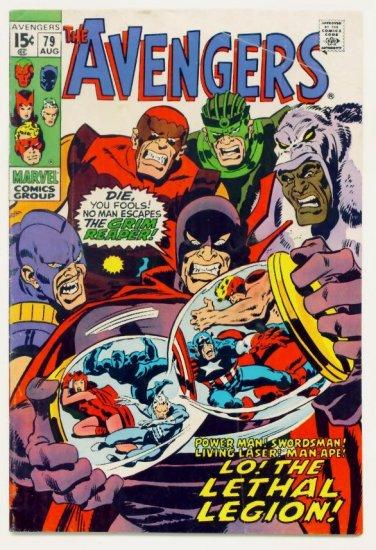 The AVENGERS #79 Marvel Comics 1970