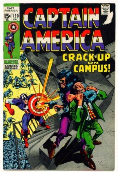 CAPTAIN AMERICA #120 Marvel Comics 1969