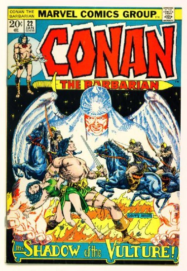 CONAN the BARBARIAN #22 Marvel Comics 1973