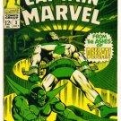 CAPTAIN MARVEL #3 Marvel Comics 1968 Mar-Vell