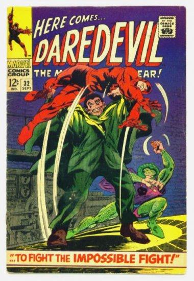 DAREDEVIL #32 Marvel Comics 1967