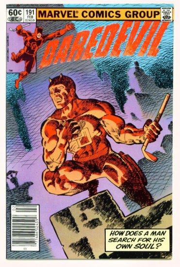 DAREDEVIL #191 Marvel Comics 1983 Frank Miller