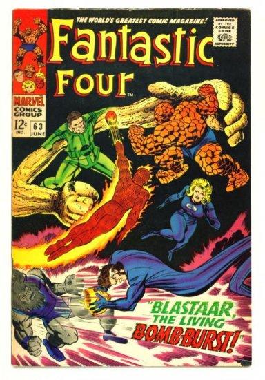 FANTASTIC FOUR #63 Marvel Comics 1967 Sandman