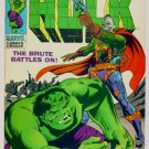 INCREDIBLE HULK #112 Marvel Comics 1969 FINE