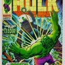 INCREDIBLE HULK #123 Marvel Comics 1970 FINE
