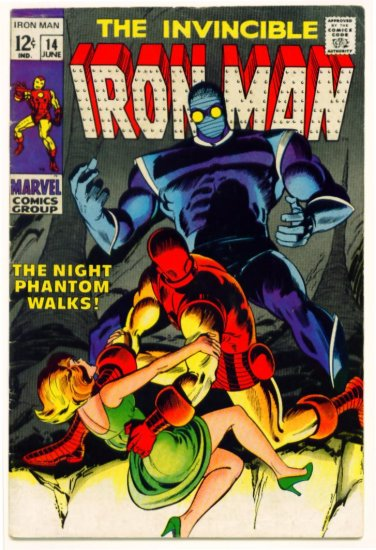 IRON MAN #14 Marvel Comics 1969