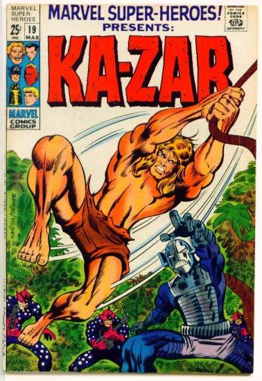 MARVEL SUPER-HEROES #19 Marvel Comics 1969 GIANT George Tuska